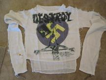 Original 1976 Vivienne Westwood/Malcolm McLaren 'Personal Collection Seditionaries' label Destroy Muslin - SOLD